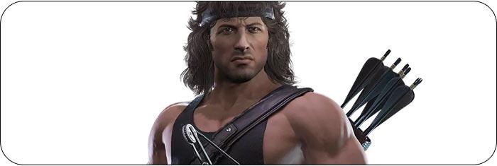 Rambo Mortal Kombat 11: Aftermath artwork