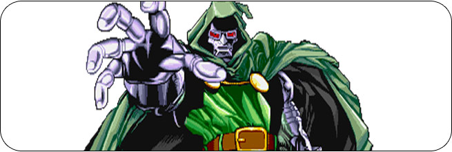 Dr. Doom Marvel Super Heroes Moves, Combos, Strategy Guide