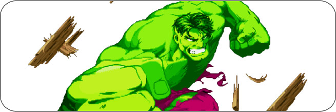 Hulk Marvel Super Heroes Moves, Combos, Strategy Guide