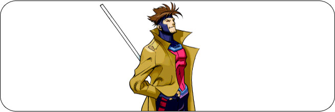 Gambit Marvel vs. Capcom 1 Moves, Combos, Strategy Guide