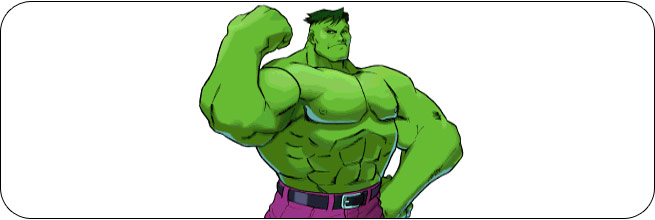 Hulk Marvel vs. Capcom 1 Moves, Combos, Strategy Guide