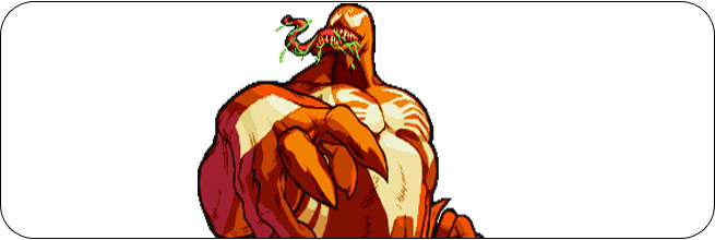 Red Venom Marvel vs. Capcom 1 Moves, Combos, Strategy Guide