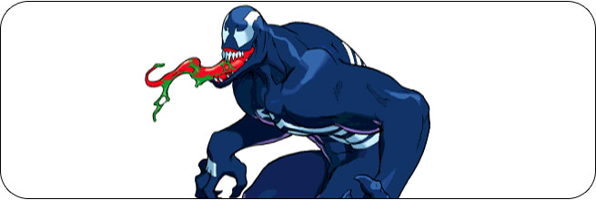 Venom Marvel vs. Capcom 1 Moves, Combos, Strategy Guide