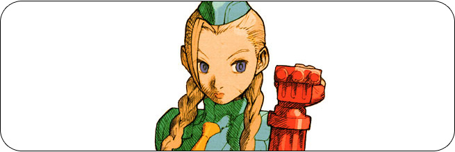 Cammy moves and strategies: Marvel vs. Capcom 2