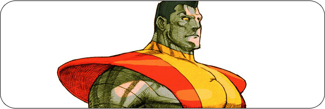 Colossus moves and strategies: Marvel vs. Capcom 2