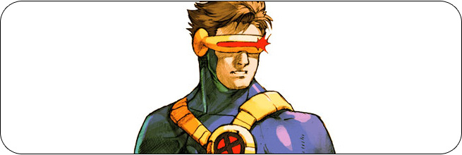 Cyclops moves and strategies: Marvel vs. Capcom 2
