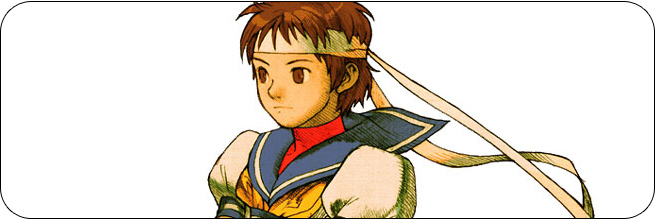 Sakura moves and strategies: Marvel vs. Capcom 2