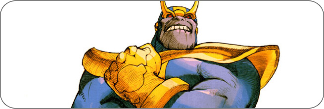 Thanos moves and strategies: Marvel vs. Capcom 2