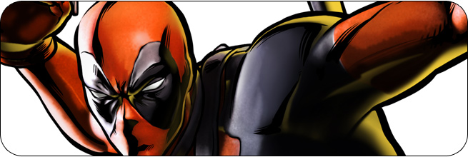 Deadpool Marvel vs. Capcom 3 Moves, Combos, Strategy Guide