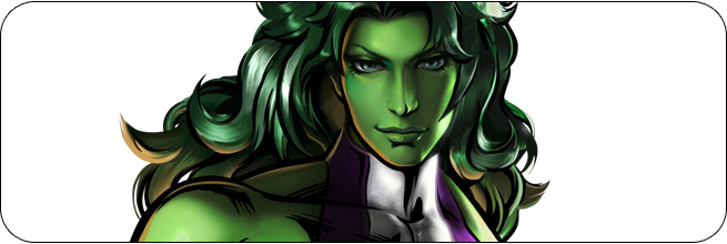 She-Hulk Marvel vs. Capcom 3 Moves, Combos, Strategy Guide