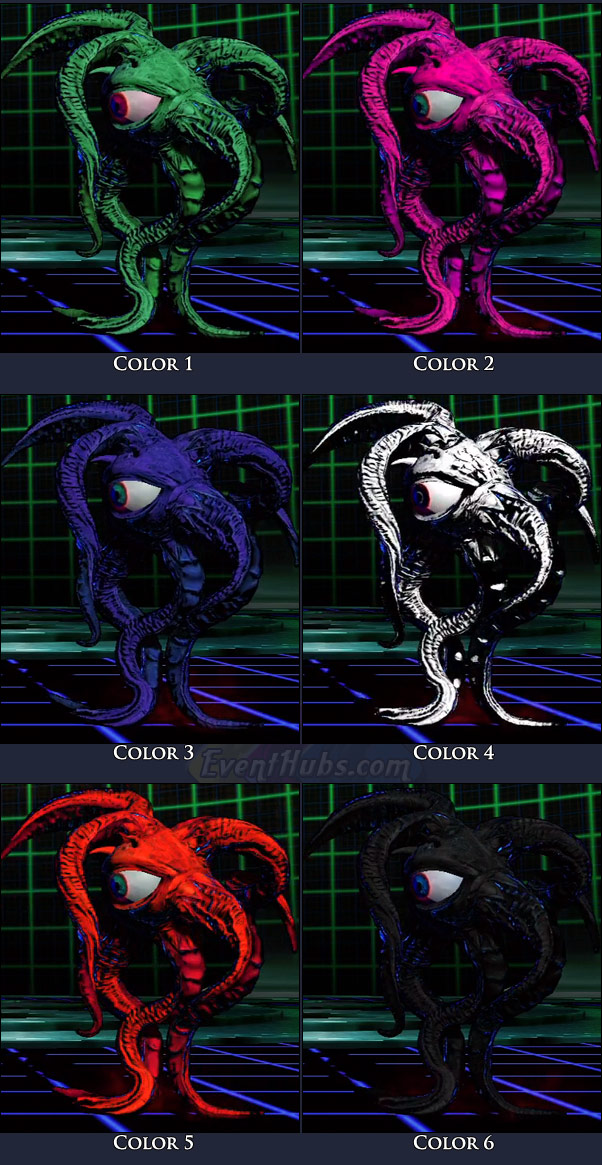 Shuma-Gorath's main costume colors in Marvel vs. Capcom 3