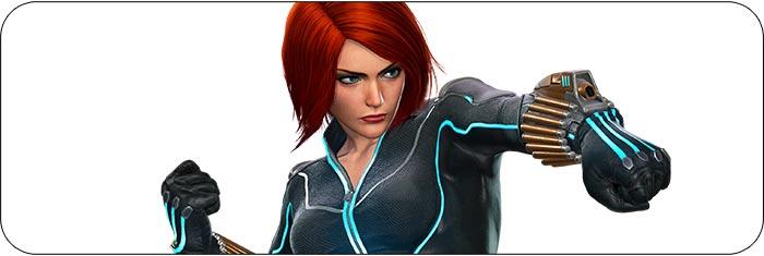Black Widow Marvel vs. Capcom: Infinite artwork