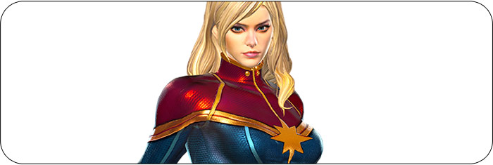 Captain Marvel Marvel vs. Capcom: Infinite artwork