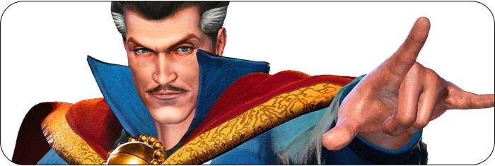 Dr. Strange Marvel vs. Capcom: Infinite artwork