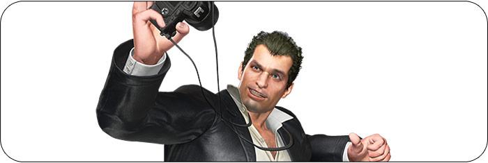 Frank West Marvel vs. Capcom: Infinite artwork