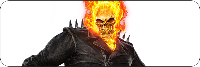 Ghost Rider Marvel vs. Capcom: Infinite artwork