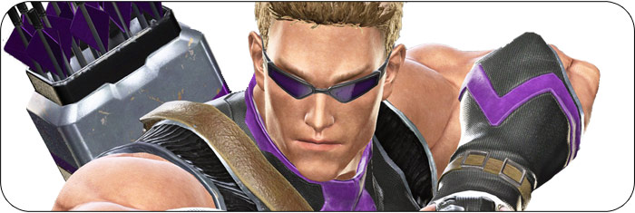 Hawkeye Marvel vs. Capcom: Infinite artwork