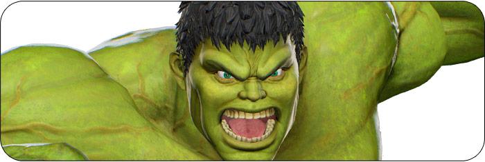 Hulk Marvel vs. Capcom: Infinite artwork