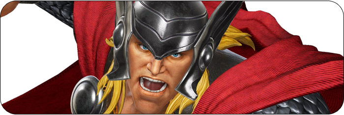 Thor Marvel vs. Capcom: Infinite artwork
