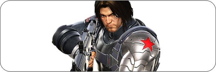 Winter Soldier Marvel vs. Capcom: Infinite artwork