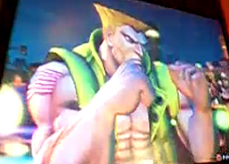 Guile's Alternative Outfit