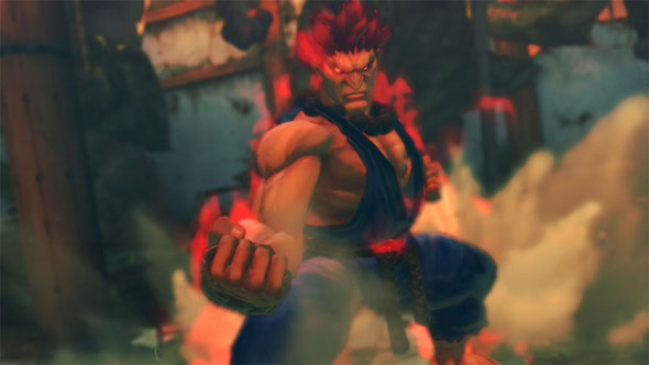 Akuma photos and video from Street Fighter 4 two