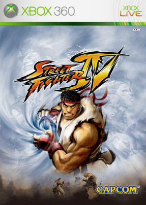 Official box art Street Fighter 4 Europe console release