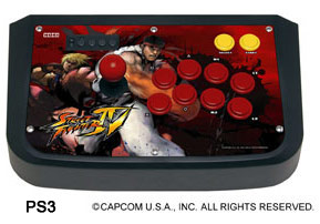 Playstation 3 Street Fighter 4 Hori Joystick