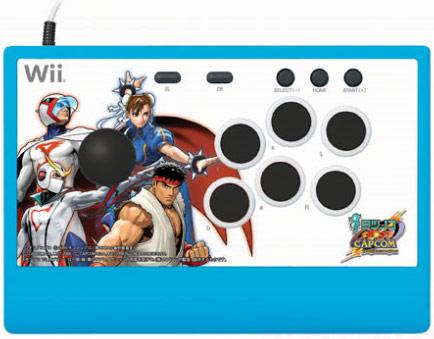 Tatsunoko vs. Capcom Wii arcade stick