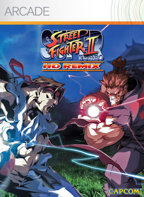 Super Street Fighter 2 HD Remix Playstation Network Cover Art