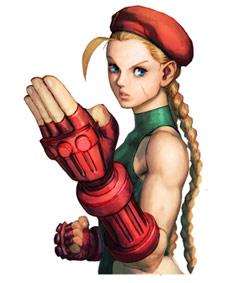 Cammy Street Fighter 4 artwork