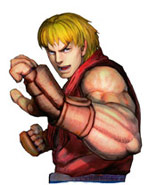 Ken character select screen artwork Street Fighter 4