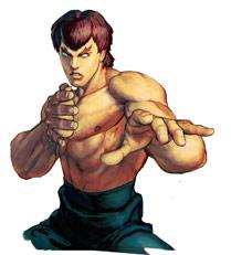 Fei Long Character Select Artwork Street Fighter 4
