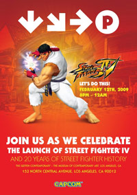 Street Fighter 4 release party in L.A.