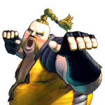 Rufus Character Artwork Street Fighter 4