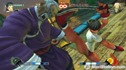 Sakura fighting without her gi in Street Fighter 4