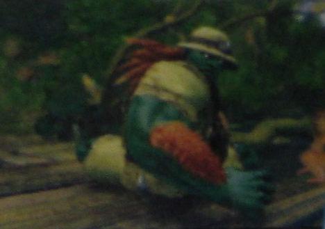 Blanka's alternative costume in Street Fighter 4