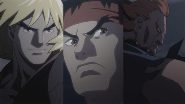 Street Fighter 4 Anime Trailer Concept Art