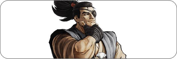Jubei Samurai Shodown artwork