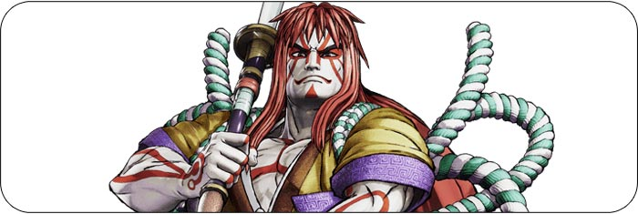Kyoshiro Samurai Shodown artwork