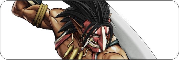 Tam Tam Samurai Shodown artwork