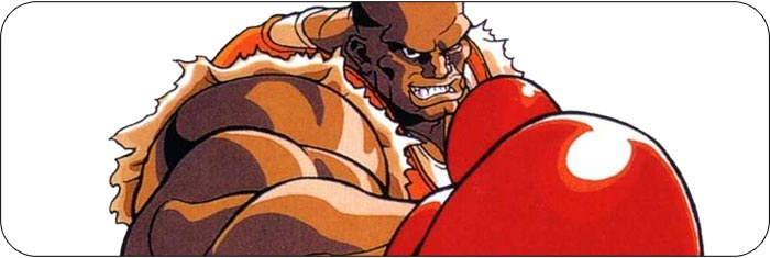 Balrog Street Fighter 2 Turbo artwork