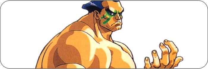 E. Honda Street Fighter 2 Turbo artwork