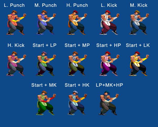 Yang's color guide