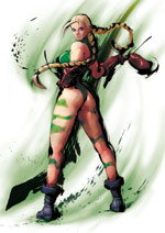 Cammy Street Fighter 4 Artwork