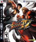 Street Fighter 4 Cover Art PlayStation 3
