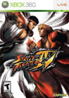 Street Fighter 4 Cover Art XBox 360