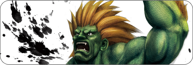 Blanka Ultra Street Fighter 4 artwork