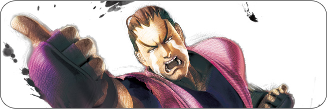 Dan Ultra Street Fighter 4 artwork