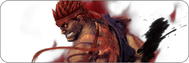 Evil Ryu Ultra Street Fighter 4 artwork